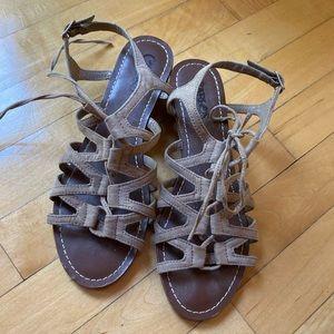 • Carlos Santana • wrap sandal